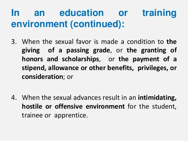 benefits of sex education in the philippines