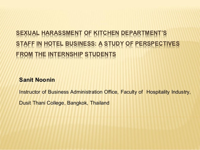 student interns and sexual harassment The complaint says an abbott northwestern clinical psychologist asked his students to mimic having sex with him  allina ignored intern's sexual harassment .