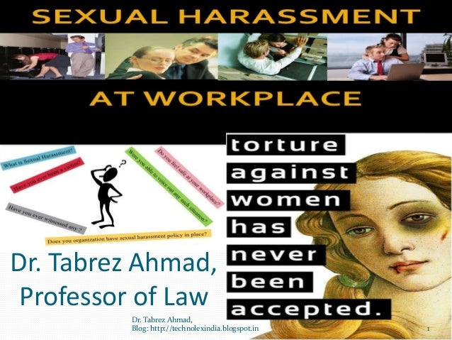 Dr. Tabrez Ahmad, Professor of Law         Dr. Tabrez Ahmad,         Blog: http://technolexindia.blogspot.in   1