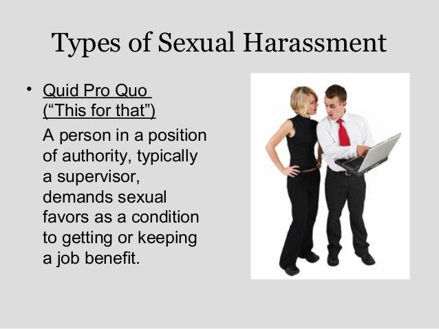 Different Types Of Sexual Harassment In The Workplace