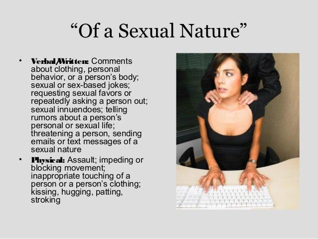 Sexual harassment training jokes