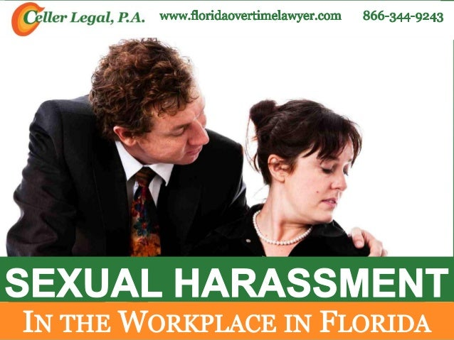 sexual harrasment the workplace