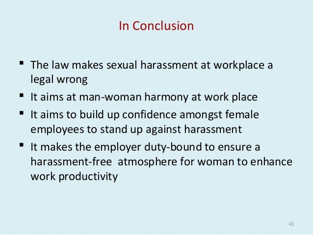 Sexual harassment in india pdf download