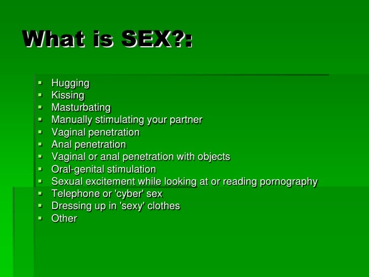 what is sexual penetration