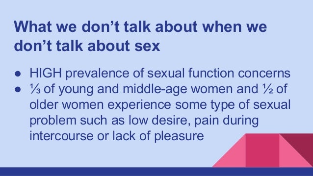 what to talk about during sex