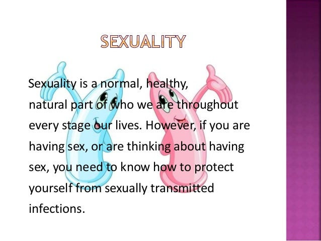 is having sex healthy