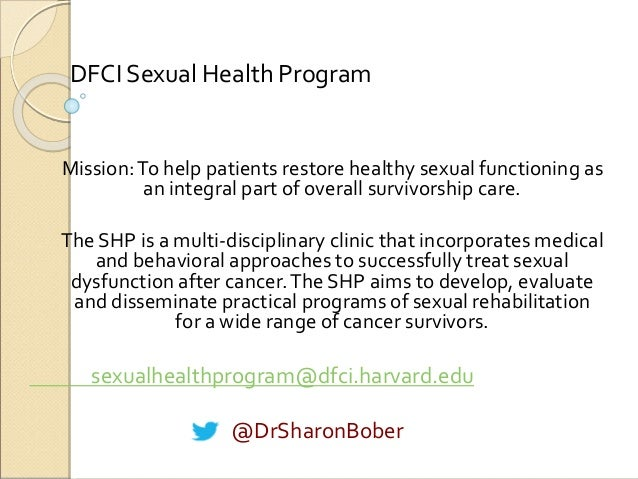 Medical approach to sexual health