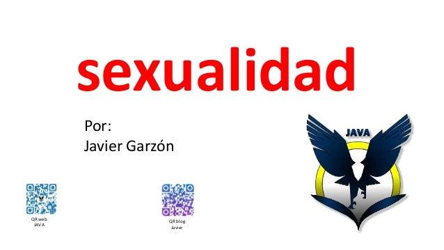 sexualidad QR web JAVA QR blog Javier Por: Javier Garzón