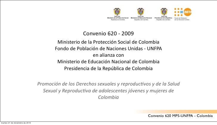 Ministerio de la Protección Social   Ministerio de Educación Nacional   Presidencia de la República                       ...
