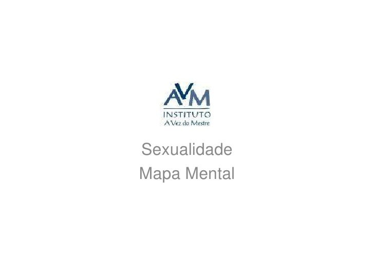 Sexualidade<br />Mapa Mental<br />
