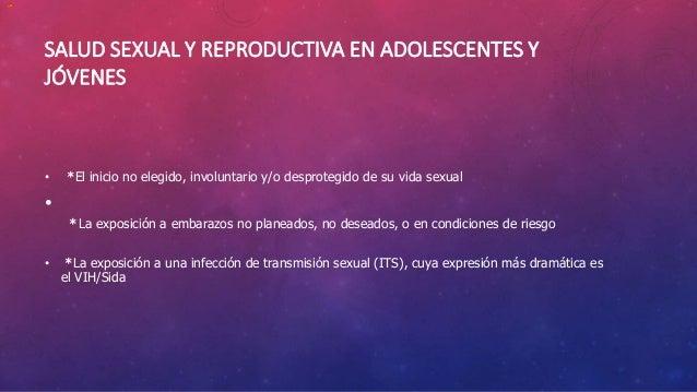 UN PROBLEMA ENORME • A nivel global, una gran cantidad de adolescentes ya son sexualmente activos antes de cumplir 20 años...