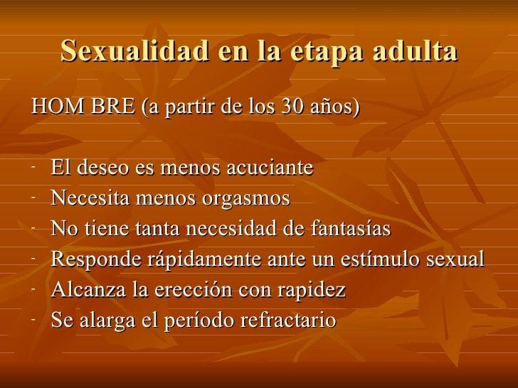 Sexualidad en la etapa adulta