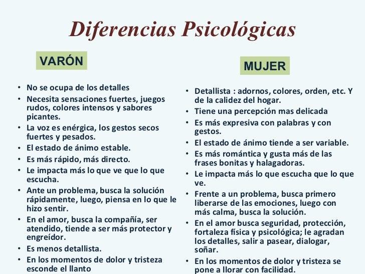 Diferencias Psicológicas <ul><ul><ul><li>No se ocupa de los detalles  </li></ul></ul></ul><ul><ul><ul><li>Necesita sensaci...