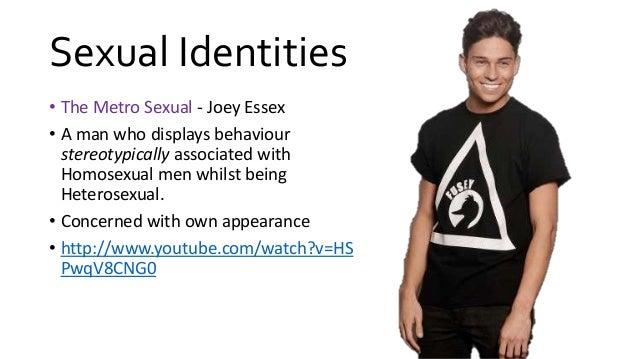 Definition of metrosexual man