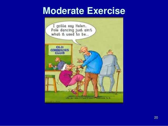 Moderate Exercise  20
