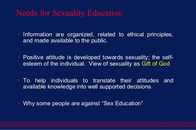 Made in the image of god human sexuality curriculum