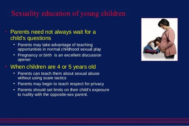 Parent should teach sex education