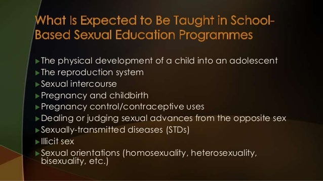 Historical background information of sex education in malaysia