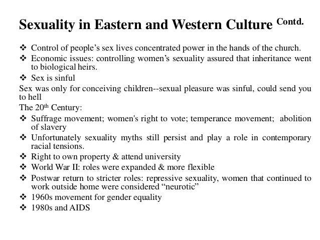 culture sex western