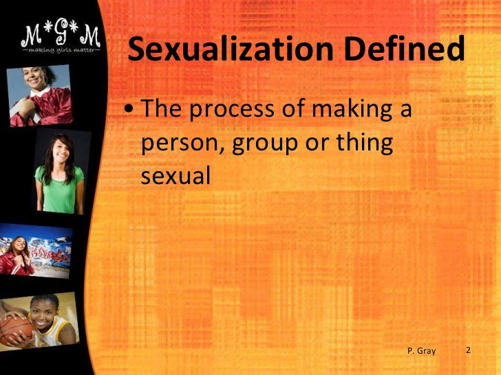 Sexualization of girls definition