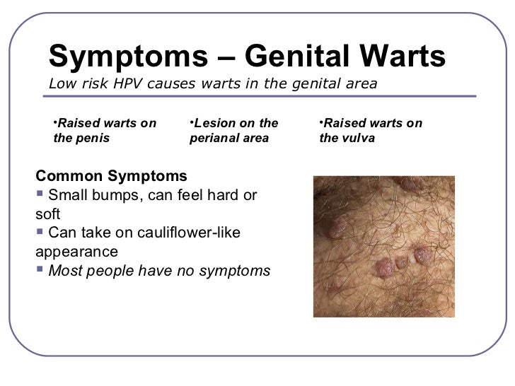 Non-sexual transmission of genital hpv