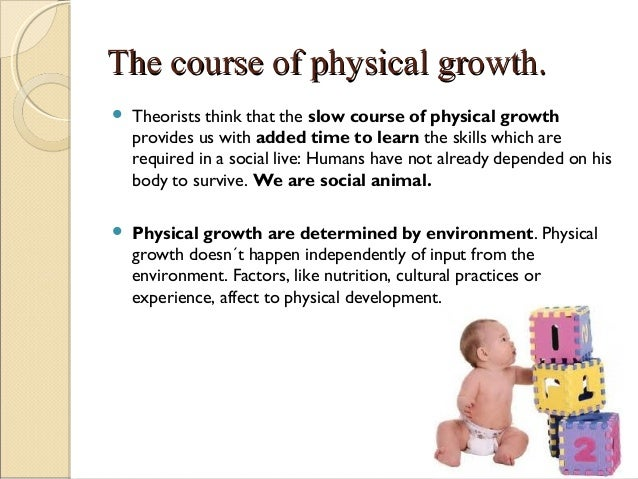 What is physical maturation