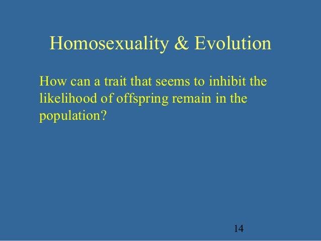 Balanced polymorphism homosexuality