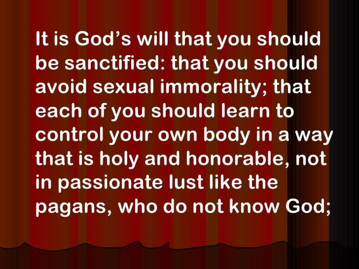 Prayer For Sexual Purity