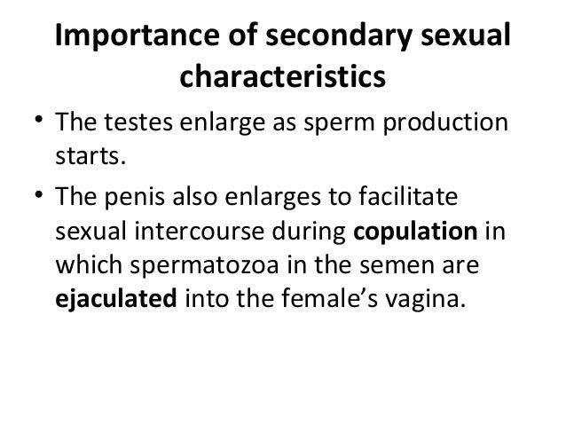 Characteristics Of Sexual Reproduction
