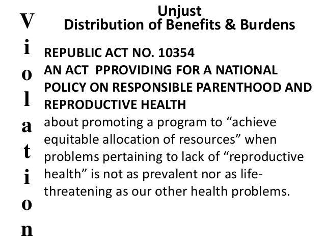 Reproductive health law essay sample