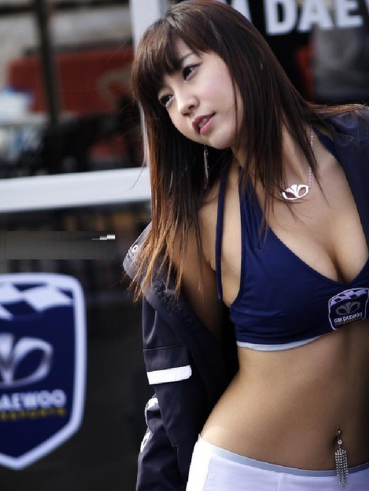 Sexy asian car girls