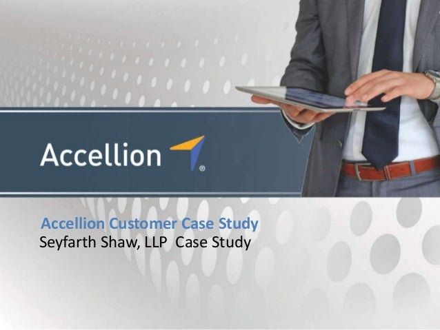 Accellion Customer Case StudySeyfarth Shaw, LLP Case Study