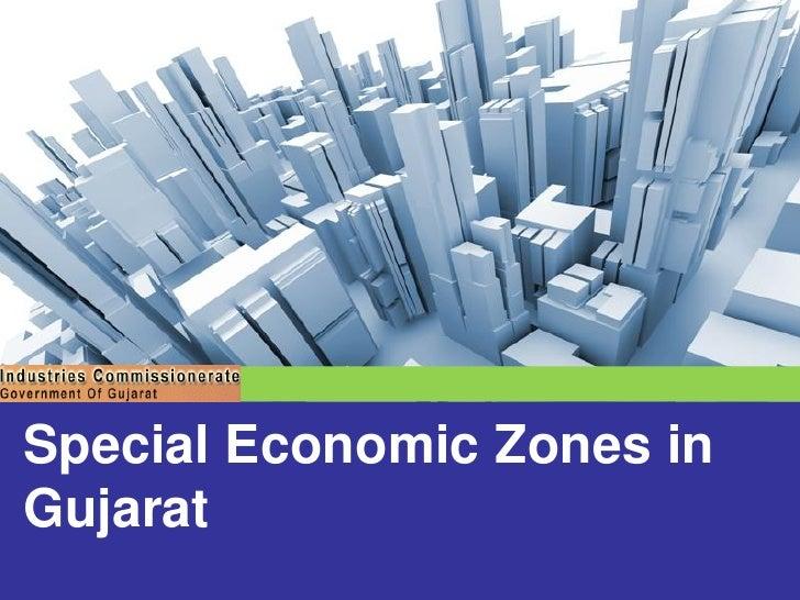 Special economic zones sez in gujarat