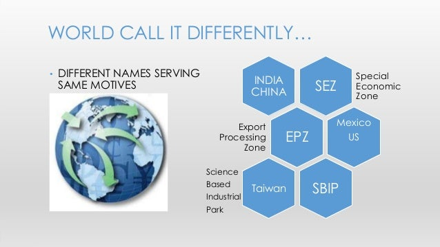 Comparison of sez in india china taiwan