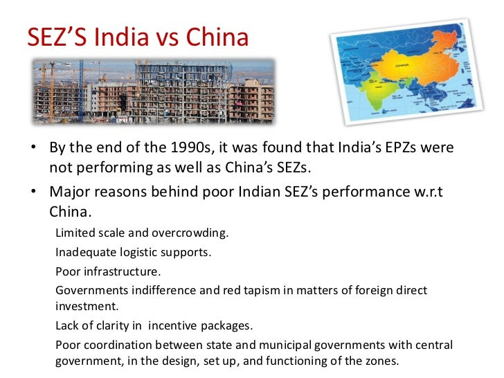 sez in china Focus on giving policy options for pakistan by overcoming these issues key  words: special economic zones, cpec, industrial development, pakistan, china.