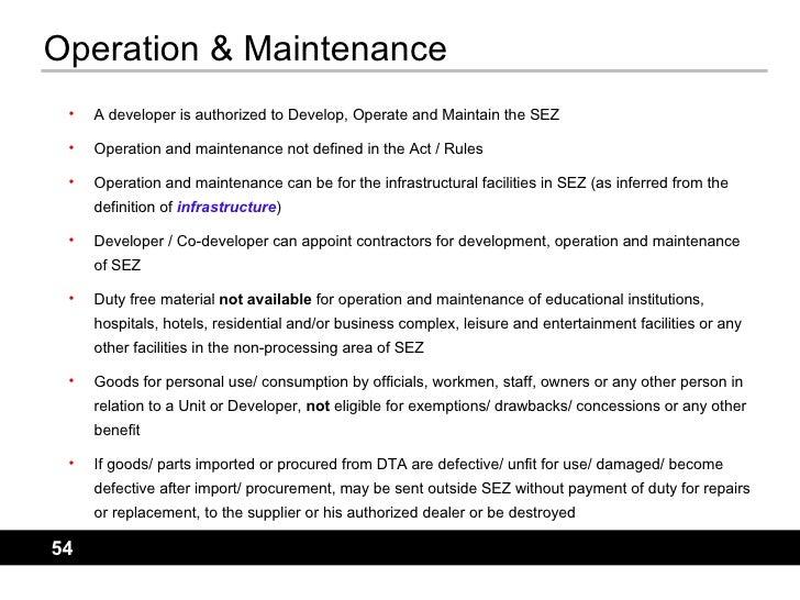 sez manual rh slideshare net General Maintenance Manual Operation and Maintenance Manual