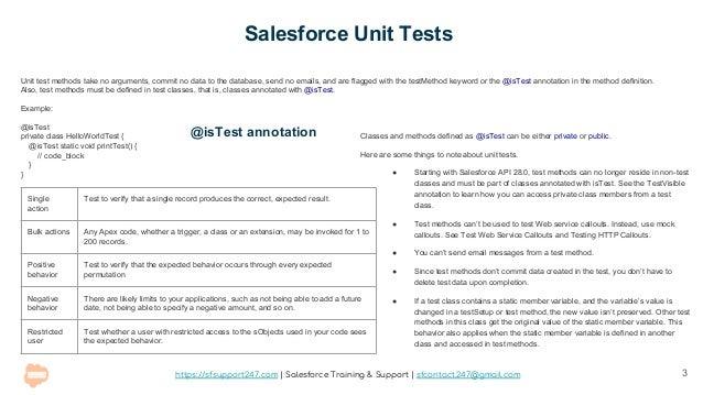 Salesforce Apex Testing