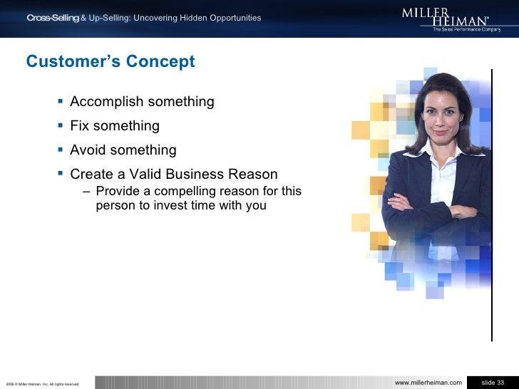 Customer's Concept<br />Accomplish something<br />Fix something<br />Avoid something<br />Create a Valid Business Reason<b...