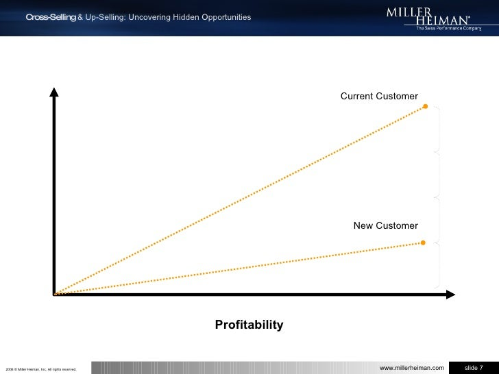 Current Customer<br />New Customer<br />Profitability<br />