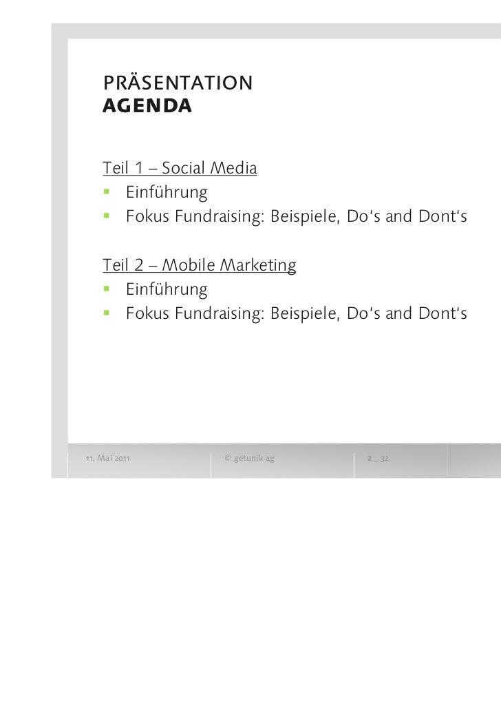 SwissFundraising ERFA Zürich - Facebook, Mobile Apps & Co. Slide 2