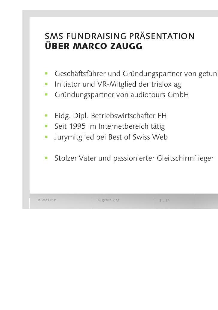 SwissFundraising ERFA Zürich - Facebook, Mobile Apps & Co. Slide 3