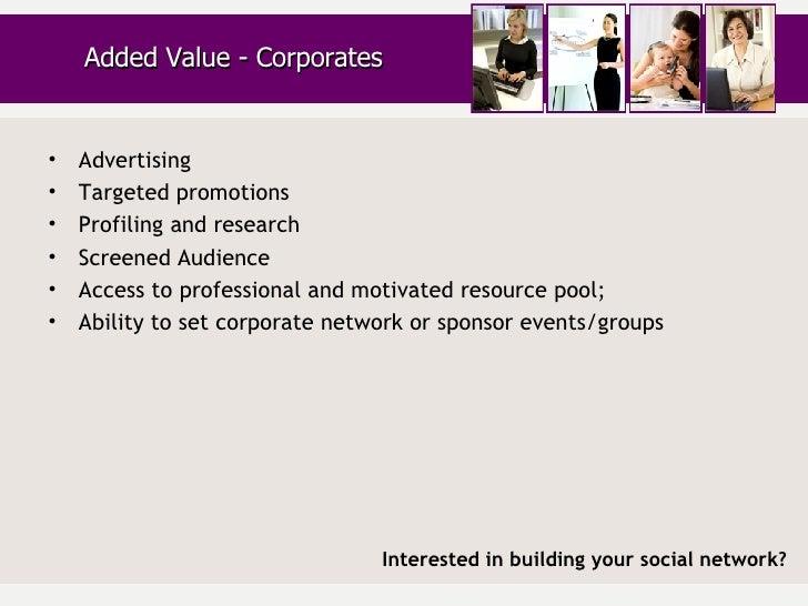 <ul><li>Advertising </li></ul><ul><li>Targeted promotions </li></ul><ul><li>Profiling and research </li></ul><ul><li>Scree...