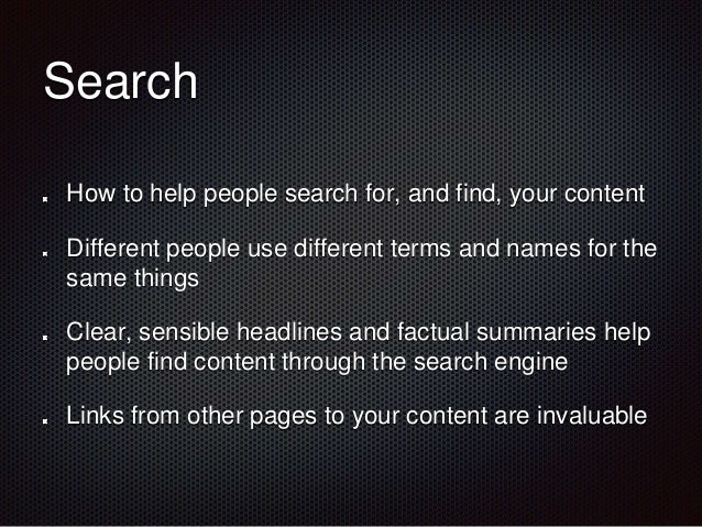 Channels  Don't only rely on the  home page to get your  content noticed  Use different areas of the  intranet in differen...