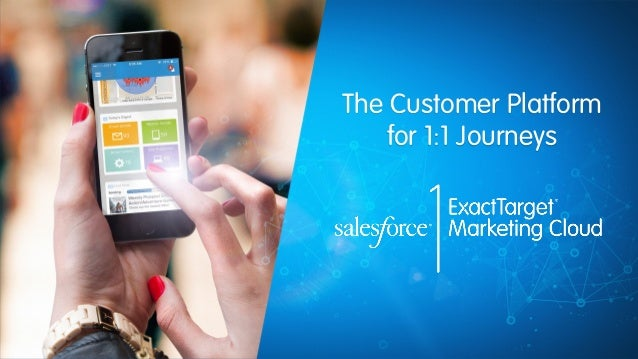 The Customer Platform  for 1:1 Journeys