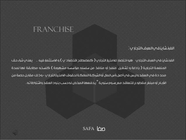 GLOBAL FRANCHISE Slide 2