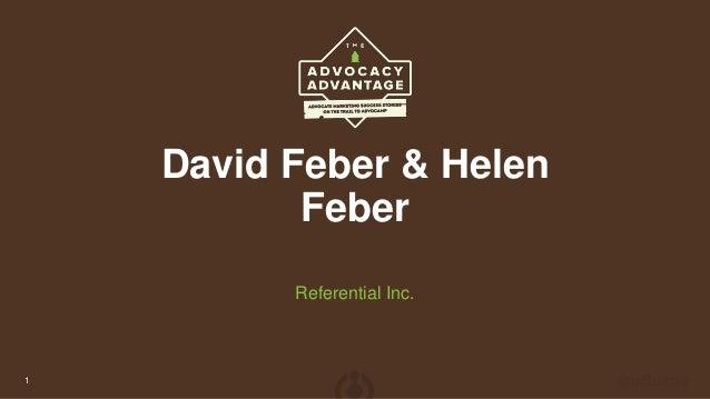 David Feber & Helen Feber Referential Inc. 1