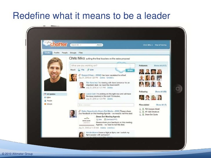 Redefine what it means to be a leader© 2012 Altimeter Group  2010