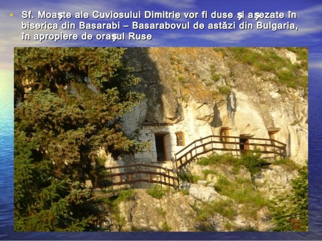 Sfantul Mucenic Dimitrie, Izvoratorul de Mir   Sfanta ...   Sf. Dimitrie