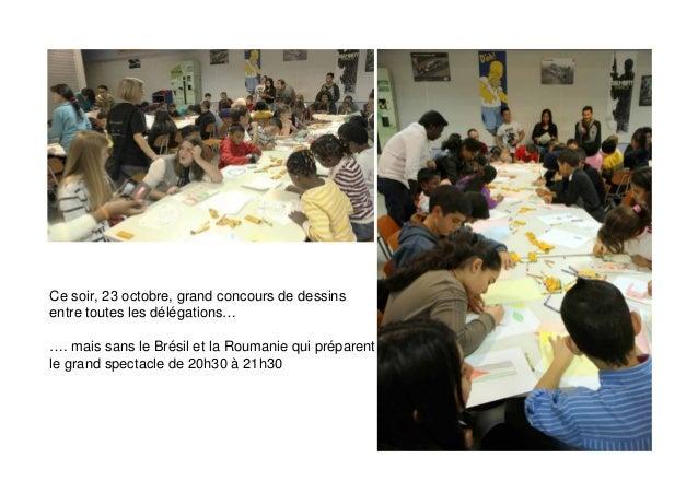 Ce jeudi 24 octobre : l'atelier « fresque »  Quels mots écrire pour raconter « la citoyenneté » ?
