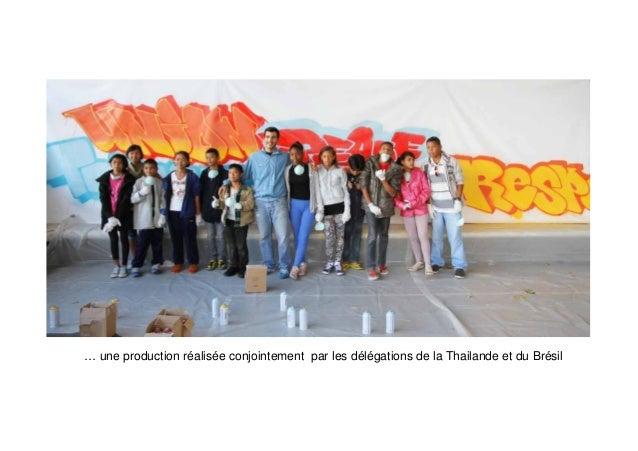 3 e la Fcup 201 journal SFB d Le p'tit s du 25 /10 Edition de Pari  Vendredi 25/10 : avec toutes les délégations, découver...